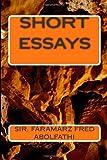Short Essays, Faramarz Abolfathi, 1490934405