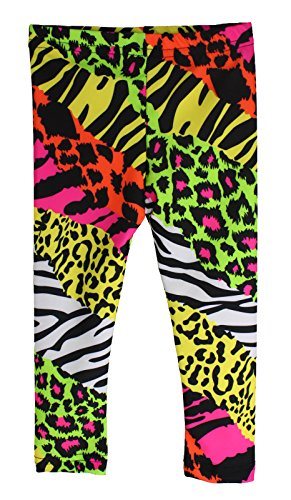 - Infant/Toddler Neon Animal Print Rock Star Pants (12 Months)