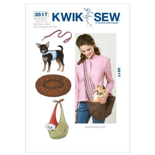 Kwik Sew K3517 Harness Sewing Pattern, Leash by KWIK-SEW PATTERNS by KWIK-SEW PATTERNS