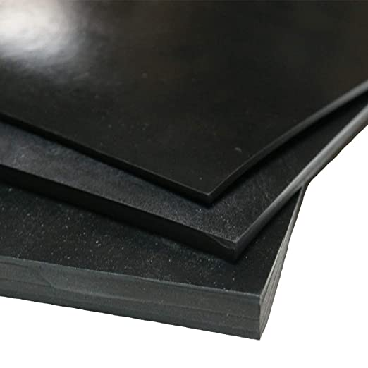 12 Width Neoprene Sheet ASTM D2000 BC 2 Thick 12 Width 36 Length Small Parts NEOCI2000-12I36I55A Black 36 Length 55A Durometer 2 Thick