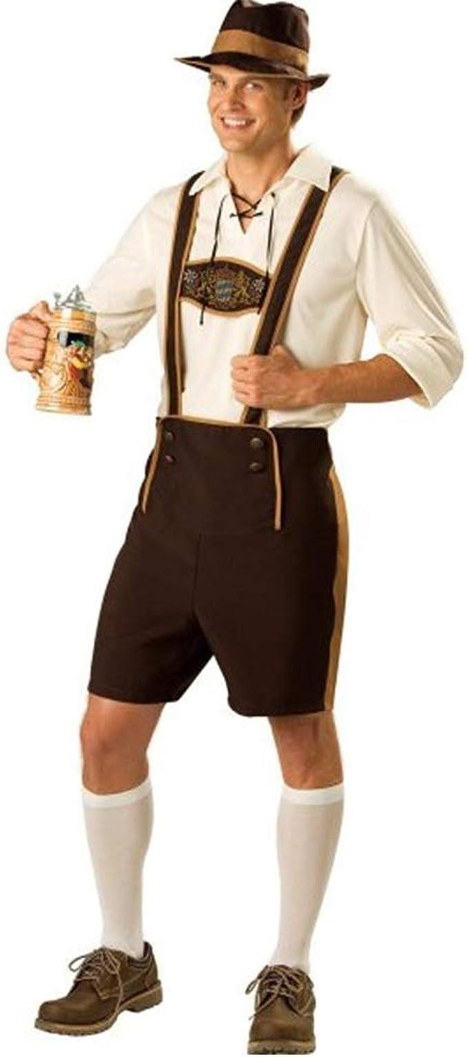 DishyKooker Disfraz de Oktoberfest Hombre, Estilo Tradicional ...