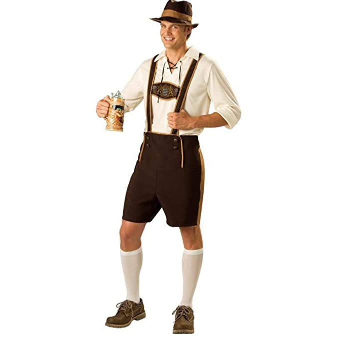 DishyKooker Disfraz de Oktoberfest Hombre, Estilo ...