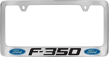 Official Licensed Ford F-150 Raptor Chrome Brass Metal License Plate Frame