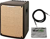 Ibanez T80II Troubadour II Acoustic Guitar Combo Amplifier Brown - 80 Watt w/ Cable and Geartree Cloth
