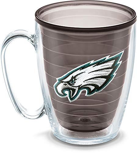 (Tervis NFL Philadelphia Eagles Emblem Individual Mug, 16 oz, Quartz)