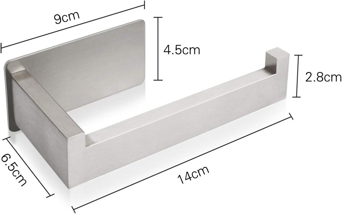 Porte Papier Toilette Adh/ésif 3M Autocollant Salles de Bains