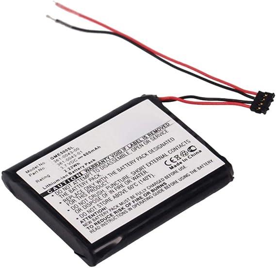 subtel Batería para Garmin Edge 200 Edge 205 Edge 500 (600mAh) 361 ...