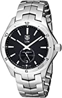 TAG Heuer Men's WAT2110.BA0950 Link Black Dial Watch