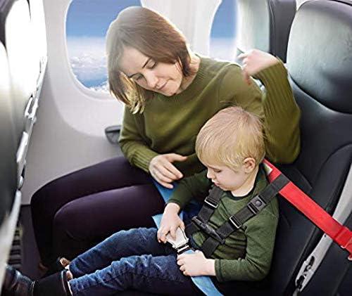 Arnés de seguridad para viajes en avión infantil, Correa con clip ...