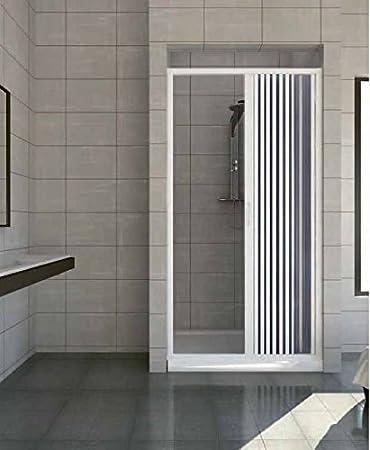 Para mampara de ducha con nicho 120 cm, diseño de pared de plástico con fuelle, 1 cara: Amazon.es: Bricolaje y herramientas