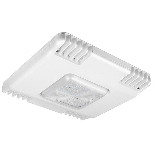 hykolity 150 W LED estación de Gas toldo al aire libre luz, ultra thin comercial luz de alta bahía con caja de derivación, 19500lm, 5000 K luz natural Color ...