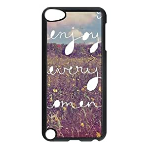Enjoy Every Moment iPod Touch 5 Case Black Exquisite gift (SA_470097)