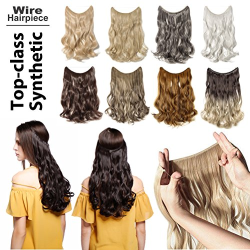 Invisible Secret Wire Flip on Clip in Hair Extensions 20-24
