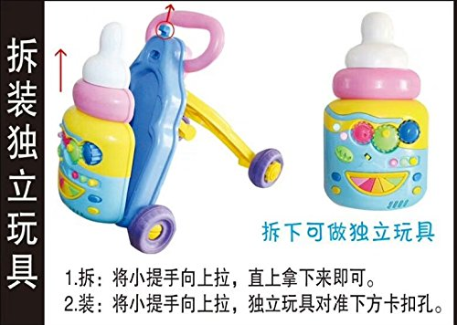 Early Education Multi-Function Walker Baby Standing Trolley Toy Baby Child Walking car 6-18 Months