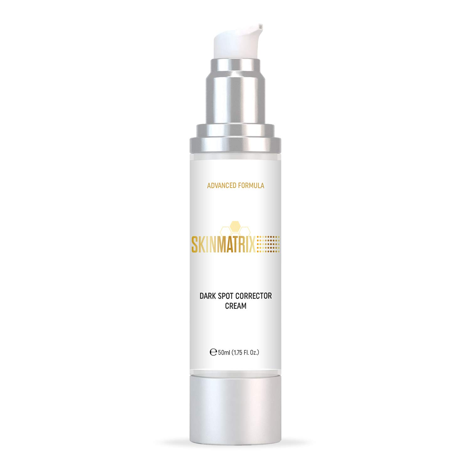 Dark Spot Corrector- Skin Brightening Cream Naturally Fades Skin Discoloration for Face & Body. Repairs Uneven Skin Tone & Complexion. Removes Age Spots, Freckles, & Acne Scars. No Harsh Chemicals.