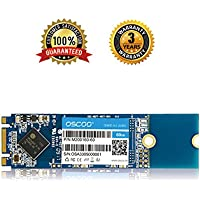 M.2 Internal SSD,OSCOO SATA III M.2 2280 Solid State Drive for Notebooks Tablets and Ultrabooks (60GB)