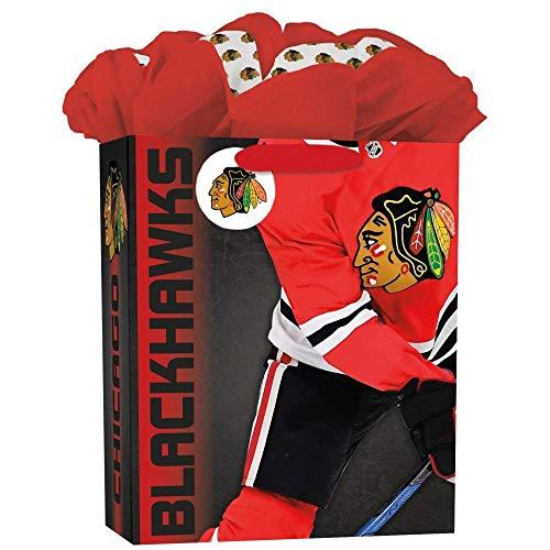 Turner Licensing Sport Chicago Blackhawks Large Gogo Gift Bag (8931034) ()