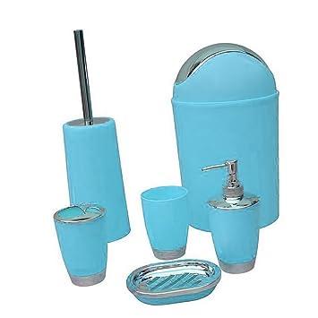 Fityle 6tlg Badset Badezimmer Zubehor Bad Accessoire Set Badgarnitur