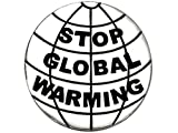 Stop Global Warming, (Package Of 12, $9.38 Each) Real Jewelry, Not Plastic Or Paper Hypoallergenic, Safe-Nickel Free, No Poisionous Lead Or Cadmium