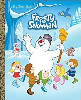 frosty the snowman big golden book frosty the snowman suzy capozzi fabio laguna andrea cagol 9780385388771 amazoncom books