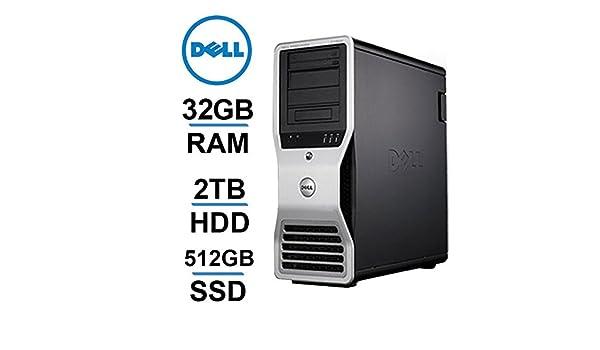 Dell 8 CORE Computer, Precision T7400 Workstation, 2 X Intel