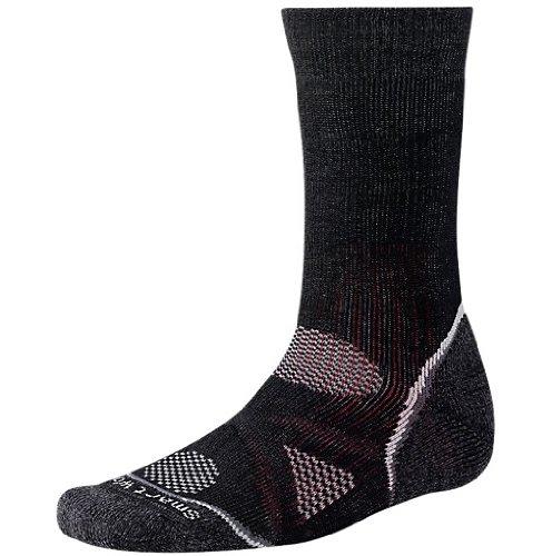 SmartWool PHD Outdoor Heavy Crew Socks - Large - Brown