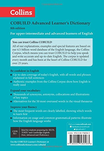 Buy Collins COBUILD Advanced Learner's Dictionary Book