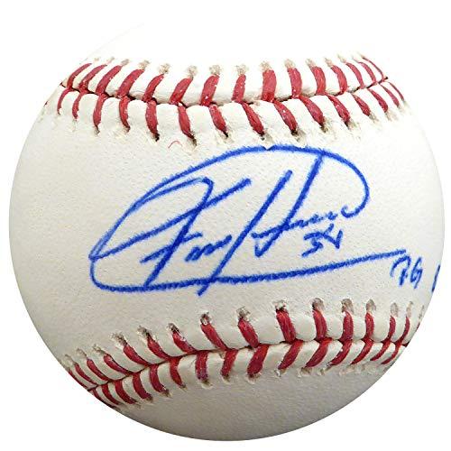 - Felix Hernandez Autographed Signed Memorabilia Official MLB Baseball Seattle Mariners Pg 8-15 -12 - PSA/DNA Authentic