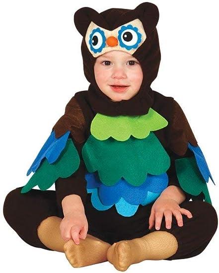 FIESTAS GUIRCA Búho Disfraz búho búho bebé: Amazon.es ...