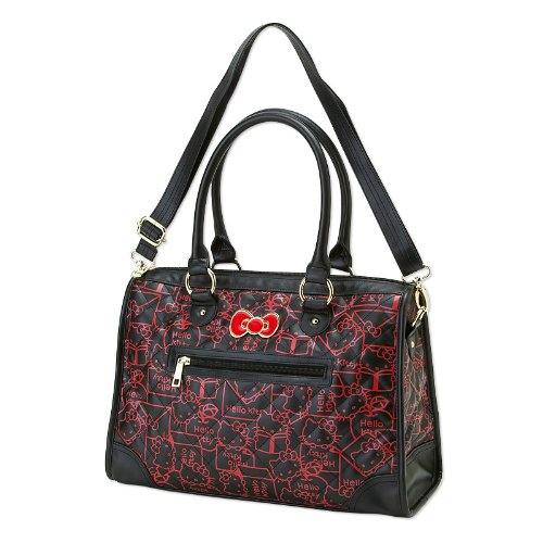 Hello Kitty tote bag (red design) (japan import)