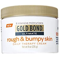 Gold Bond Ultimate Rough & Bumpy Daily Skin Therapy, 8 Ounce, Helps Exfoliate and Moisturize to Smooth, Soften, and Reduce the Appearance and Feel of Bumps and Rough Skin Patches