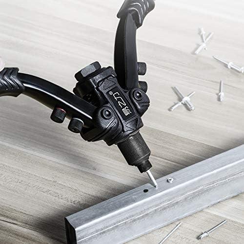Riveter Gun with Rivet Nut Blind Rivet Guns Hand Riveting Kits Home DIY Nails Gun BT-811 Bt-810