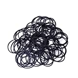 SHENWE 2.2 pounds Rubber Bands Hair Tie Elastic Rubber Bands Elastic Stretchable Bands for Home Office School Supplies