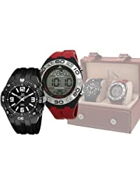 Joshua and Sons Analog and Digital Watch Set JS-74-2