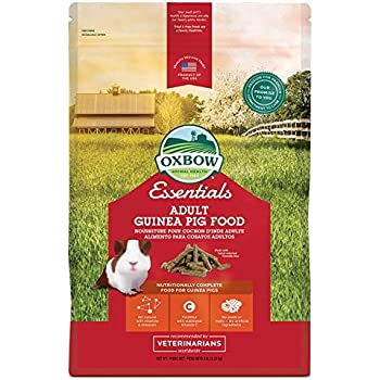 Oxbow Animal Health Cavy Cuisine Adult Guinea Pig Fortified Small Animal Feeds, 5-Pound