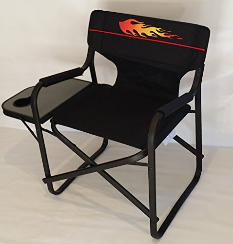 Hot Rod Style -Oasis Deluxe Director Chair-5 Years Warranty-High Quality Product by Oasis