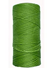 Linhasita Gewaxte draad 100 g/170 m polyester 1 mm dikke marame, 30 kleuren