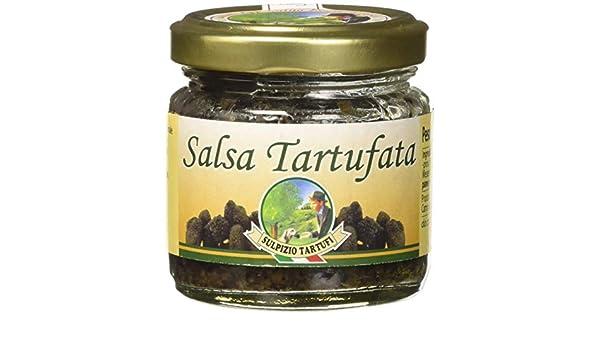 Sulpizio Tartufi - Salsa de Trufa - 80gr - Producto original en Italia: Amazon.es: Alimentación y bebidas