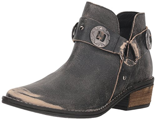 Chinese Laundry Women's Austin Ankle Boot, Black Leather, 8 M US
