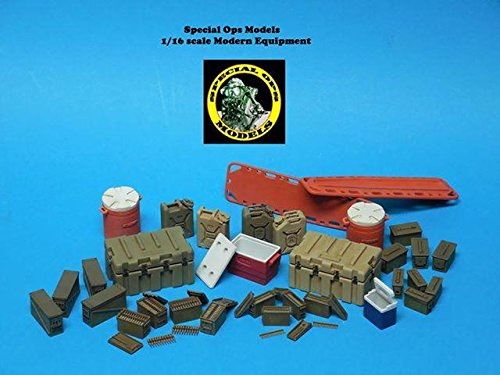 Special Ops 1/16 scale Modern Equipment Miniature resin Large Cooler (x 1)