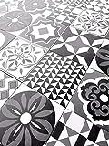 tile floor patterns 8.75x8.75 Cafe De Paris Collection Patchwork Porcelain Wall Floor Tile (Box of 10)