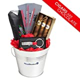 Gift Basket Ideas for Men – Christmas or Anniversary Gift for Men Birthday Baskets for Him Boyfriend Husband- Chocolate Cigars Keychain Bottle Opener Axe Spray – Anniversary Thank You Happy Birthday – Speedy Delivery