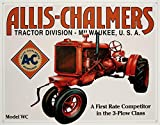 Allis Chalmers Model U Tin Sign 16 x 13in