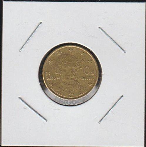 Coins 10 Euro (2002 GR Rigas Feraios 10 Aenta, 10 Euro Cent Choice Fine Details)