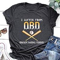 Baseball Shirt Baseball OBD Obsessive Baseball Disorder T Shirts Hoodie