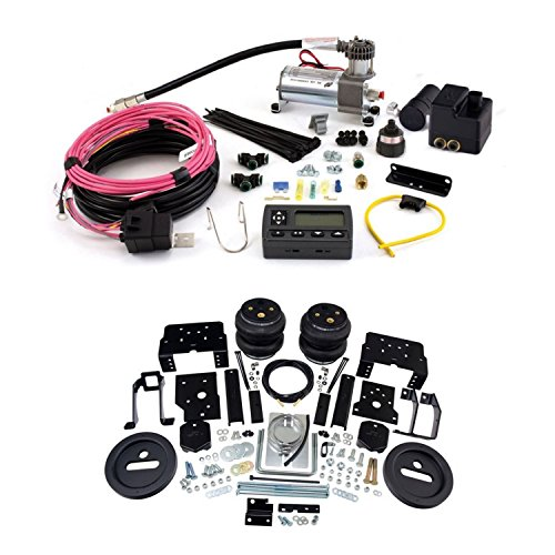 - Air Lift 57596 72000 Rear Set of Load Lifter 7500XL Series Air Springs with Wireless AIR Dual Path On-Board Air Compressor System Bundle for Ford F-250 F-350