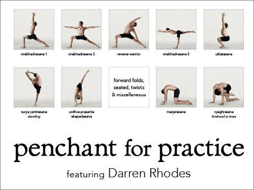 Tendencia para práctica yoga Póster con Darren Rodas: Amazon ...