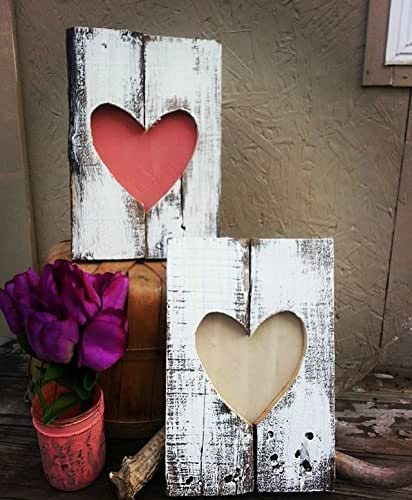 10 Diy Valentine S Day Gift And Home Decor Ideas: Amazon.com: Rustic Valentine's Day Decoration