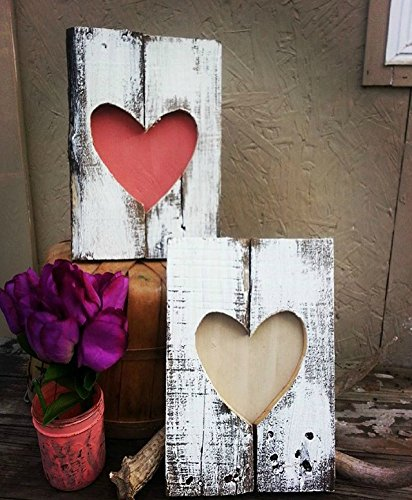 Amazon Com Rustic Valentine S Day Decoration Rustic Home Decor