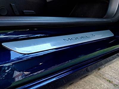 Tesla Model 3 Door Sill Clear Protection Vinyl